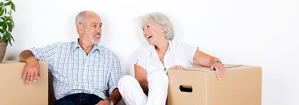 Die Suche nach einer altersgerechten Wohnung, Servicewohnen, betreutes Wohnen und Umzüge für Senioren in Hamburg und Berlin erleichtern